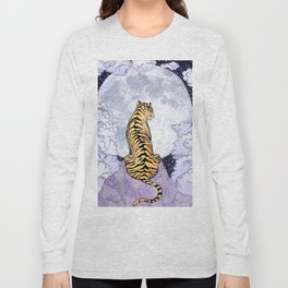 Tiger Moon | Colour Version Long Sleeve T-shirt