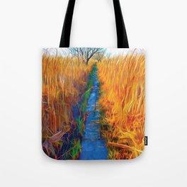 Wetland Boardwalk Tote Bag