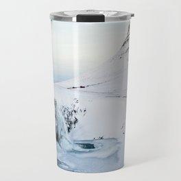 Kirkjufell Waterfall Travel Mug