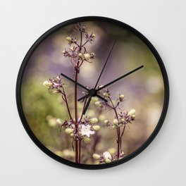 Fairy bloom Wall Clock