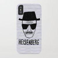 heisenberg iPhone & iPod Cases featuring HeisenBerg by IIIIHiveIIII