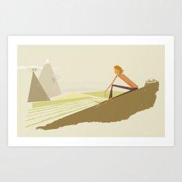 Contemplation Art Print