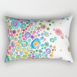 Inner Circle - white Rectangular Pillow