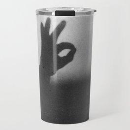 OK (B&W) Travel Mug