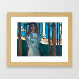The Voice, Summer Night by Edvard Munch Framed Art Print