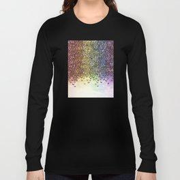 rainbow of butterflies aflutter Long Sleeve T-shirt