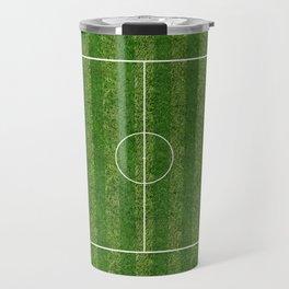 Soccer (Fooball) Field Travel Mug