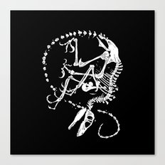 Deinonychus Canvas Print
