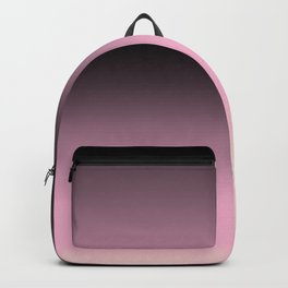 Black ,pink , cream , Ombre Backpack