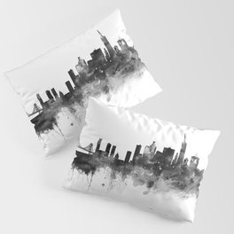 San Francisco Black and White Pillow Sham