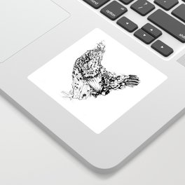 Magritte - Henhouse Series Sticker
