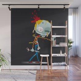 Hugo, the Zombi Wall Mural