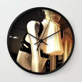 Girl from the other side Wall Clock