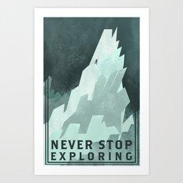 NSE Art Print