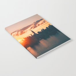 Sunrise in New York City (Color) Notebook