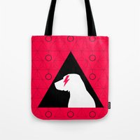 lab Tote Bags featuring Fabulous Lab by Ales