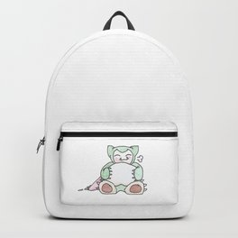 Hungry Snorlax (by Ian) Backpack
