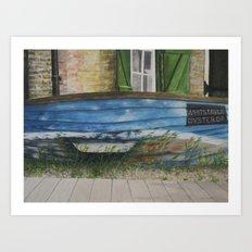 whitstable oyster co. Art Print