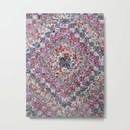 Liberty of London Patchwork Quilt Metal Print