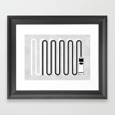 This Could Take All Night. Framed Art Print