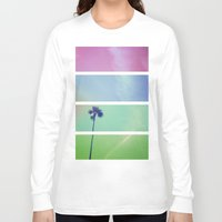 palm tree Long Sleeve T-shirts featuring Palm Tree by Whitney Retter