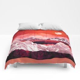 Scarlet Glow Comforters