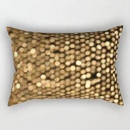 BOKEH GOLD Rectangular Pillow