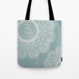 Mandala of Blue Dreams Tote Bag