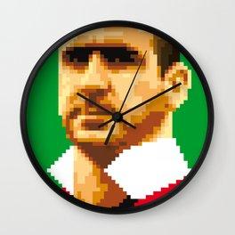 King of kickers Wall Clock