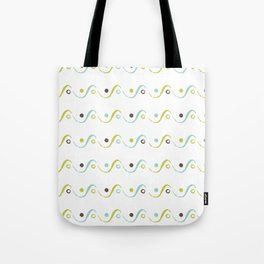 Circles On the Waves Tote Bag