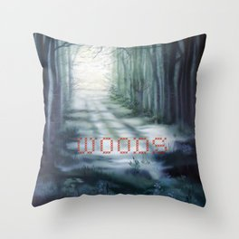 Dappled Stories Throw Pillow