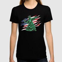 Lady Liberty Riot - Anti Government T-shirt