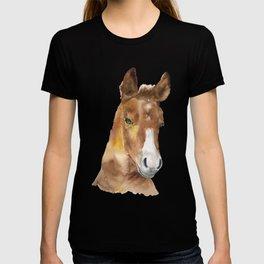 Horse Head Watercolor T-shirt