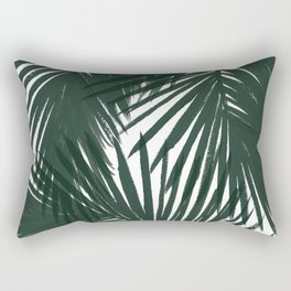 Palms Green Rectangular Pillow