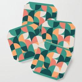Mid Century Geometric 20 Coaster
