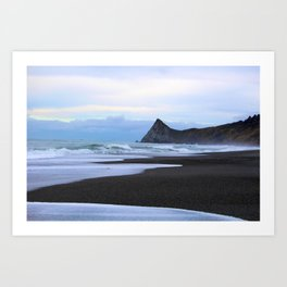 Watching the tide come in Humboldt California Art Print