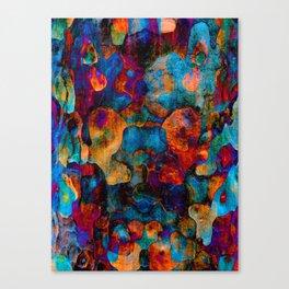 Bark-Face 1 Canvas Print