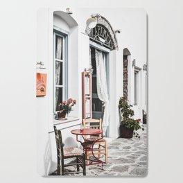 Amorgos Greece Cutting Board