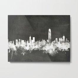 Hong Kong Skyline Metal Print