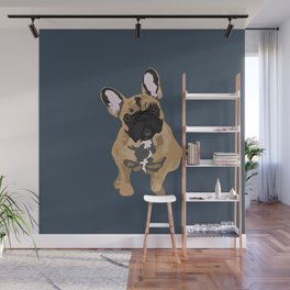 Zoey the Frenchie Wall Mural