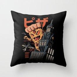 Pizza kong Throw Pillow