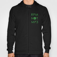 RPM NOT MP3 - Green Hoody