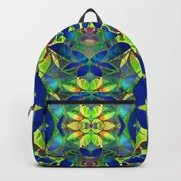 Floral Fractal Art G373 Backpack