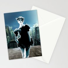 Kitten Jeanne Stationery Cards