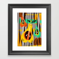 Peritas Framed Art Print