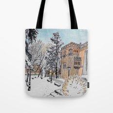 Spanish Palace Tote Bag