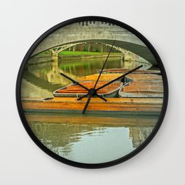 PUNT-UAL Wall Clock