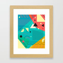 Memphis One Framed Art Print