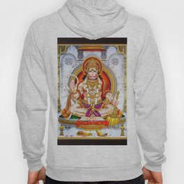 Hindu Hanuman Monkey God 5 Hoody