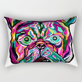 Pink Englishman Rectangular Pillow